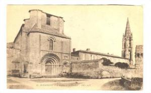 L'Eglise Et Le Clocher, Saint-Émilion (Gironde), France, 1900-1910s