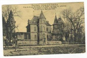 Chateau De La Croix-Plot, Donchery (Ardennes), France, 1900-1910s