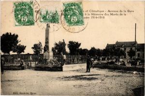 CPA et Climetique - Avenue de la Gare .. (458664)