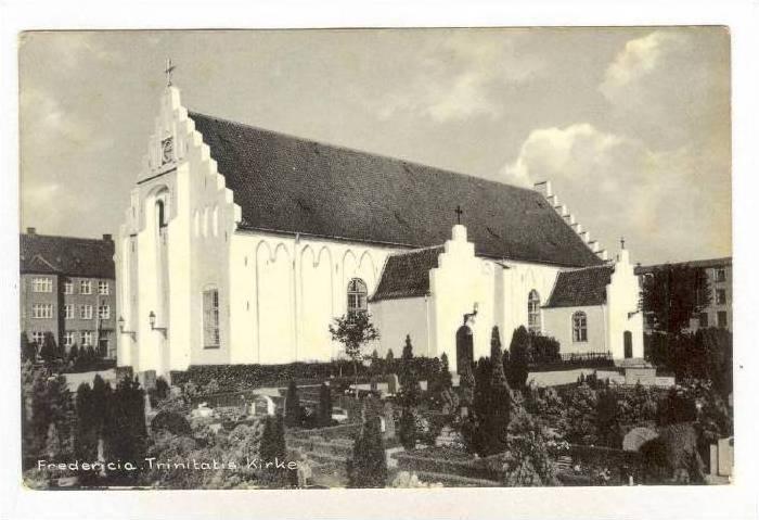 Fredericia. Trinitatis Kirke. Denmark, PU-1960
