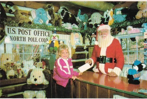 Colorado North Pole Santa's Workshop Post Office
