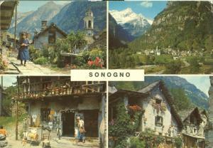 Switzerland, Suisse, Sonogno Ti, Valle Verzasca 1979 used