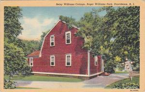 Rhode Island Providence Betsy Williams Cottage Roger Williams Park