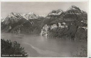Switzerland Postcard - Urnersee Mit Urirotstock - Ref TZ7647
