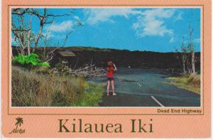 KILAUEA IKI VOLCANO - DEAD END HIGHWAY