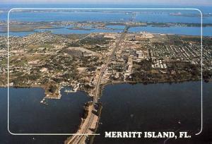 FL - Merritt Island, Aerial View