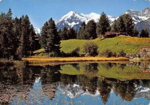 Switzerland Grachensee bei Grachen Weisshorn Brunegghorn Bishorn