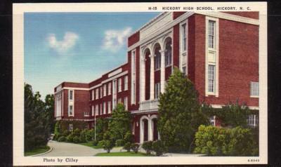 North Carolina colour PC Hickory High School