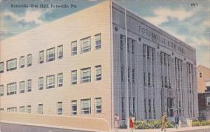 Pennsylvania Pottsville City Hall 1941
