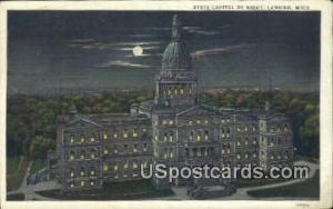 State Capitol Lansing MI 1930