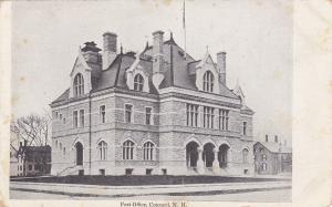 CONCORD , New Hampshire, 1901-07 ; Post Office