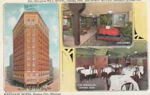 KANSAS CITY , Missouri , 1910s ; Westgate Hotel