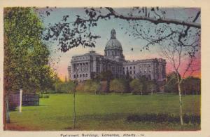 Parliament Buildings, Edmonton, Alberta, Canada, 1930-1940s