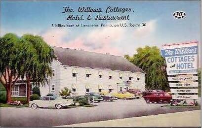 PA Lancaster Willows Hotel & Restaurant