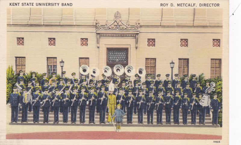 Kent State University Band, Roy Metcalf,Dir.  , Ohio , 30-40s