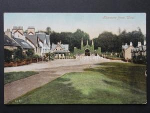 Perthshire: KENMORE from West - Old Postcard (pre War Memorial) by Valentine's