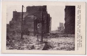 1906 Earthquake, Powell St, San Francisco CA