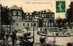 CPA REVEL - L'Hopital Roquefort et le Jardin public (583119)