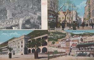 Gibraltar South Casemates Barracks Cascade Waterport Street 4x Postcard s
