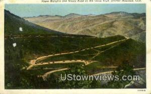 Upper Hairpins, Lariat Trail
