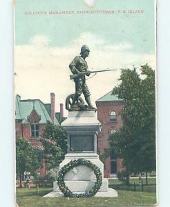 W-Border MONUMENT SCENE Charlottetown Prince Edward Island PE F2875