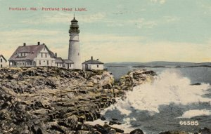 PORTLAND, Maine, 1915; Portland Head Lighthouse