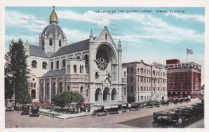 Florida Tampa Church Of The Sacred Heart 1933