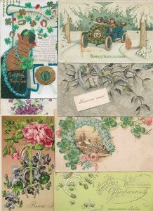 New Year Embossed Postcard Lot of 20  01.15