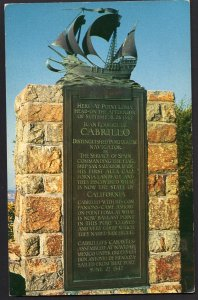41120) California SAN DIEGO Cabrillo Monument at Point Loma - Chrome
