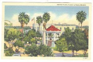 Scenic view of Juarez Plaza, Nuevo Laredo, Mexico,PU-1939
