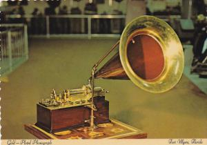 Gold Plated Phonograph Edison Museum Fort Myers Florida