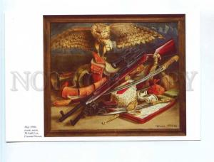 252621 RUS ADVERTISING painting Gennady Khilko falcon