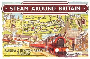 Steam Around Britain Bolton Abbey Station Embsay & Bolton Abbey Railway Station