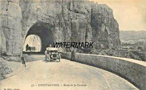 CONSTANTINE ALGERIA AFRICA~ROUTE de la CORNICHE~M MELIX 1910s PHOTO POSTCARD