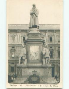 old rppc NICE VIEW Milano - Milan Italy i2953