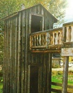 Big John The Double Decker Pioneers Virginia City Montana Vintage Postcard