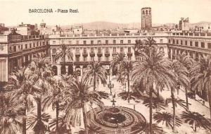 Spain Barcelona - Plaza Real, Square