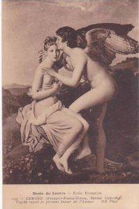 Gerard Psyche recoit le premier baiser de l'Amour Musee Du Louvre Paris