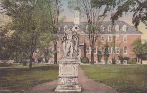 Virginia Williamsburg Sir.Chistopher Wren Building Of The College Charter Was...