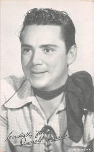 Russell Hayden Western Actor Mutoscope Unused