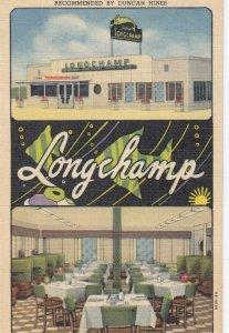 RT 66 ; AMARILLO , Texas , 1930-40s ; Long Champ Dining Salon