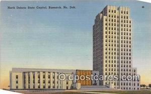 North Dakota State Capitol Bismarck, ND, USA Postcard Post Card Bismarck, ND,...