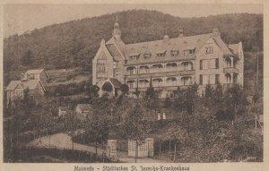 Malmedy Stadtisches St Josephs Krankenhaus German WW1 Postcard