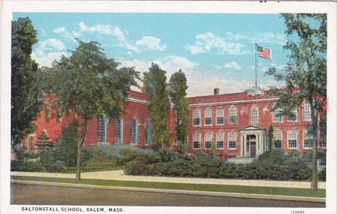 Saltonstall School Salem Massachusetts Curteich