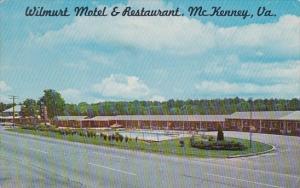 Virginia Mc Kenney Wilmurt Motel & Restaurant With Pool