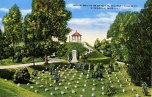 MS - Vicksburg. Vicksburg National Military Park, Indian Mound