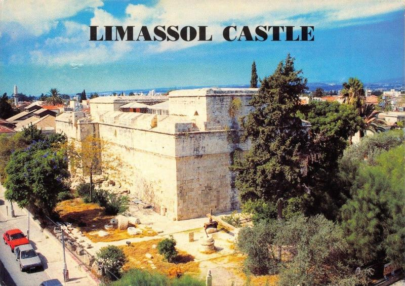 Postcard Limassol The Medieval Castle, Cyprus #716