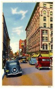 Massachusetts Springfield , Worthington Street , Hotel Worthy