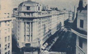 BUENOS AIRES, Argentina, 1900-1910's; Avenida Pres. R. Saenz Pena