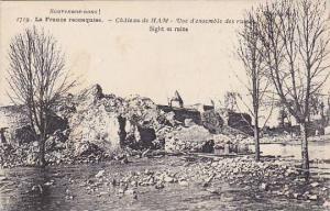 Sight Of Ruins, Chateau De Ham (Somme), France, 1900-1910s